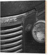 Untitled Classic Car Wood Print