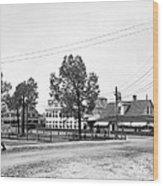 Wilcox Hotel In Aiken Wood Print