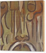 Untitled Siena Series Wood Print