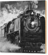 Up 844 Steaming It Up Wood Print
