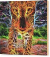 Up Close  Wood Print