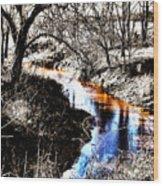 Up On Cripple Creek Wood Print