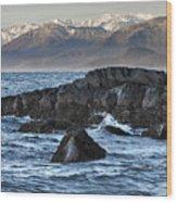 Up The Stikine Wood Print