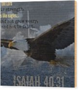 Uplifting217 Wood Print