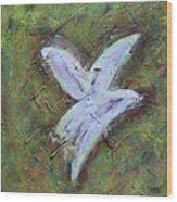 Upon Angels Wings Of Change Wood Print