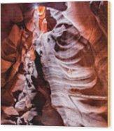 Upper Antelope Canyon #1 Wood Print