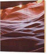 Upper Antelope Canyon 6 Wood Print