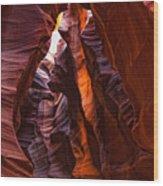 Upper Antelope Canyon, Arizona Wood Print