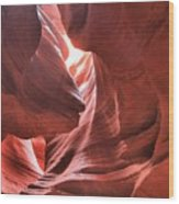 Upper Antelope Lights Wood Print