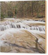 Upper Campbell Falls Wood Print