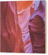 Upper Canyon 31 Wood Print