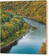 Upper Delaware River Wood Print