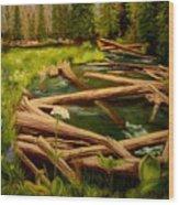 Upper Deschutes Wood Print