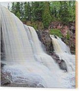Upper Gooseberry Falls Wood Print