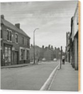 Upper High Street, Lye - 1960's    Ref-63 Wood Print