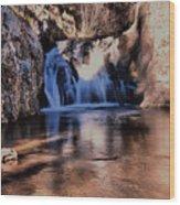 Upper Jemez Falls New Mexico Wood Print