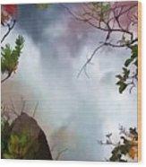 Upper Kaaterskill Falls Wood Print