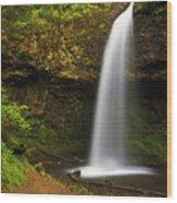 Upper Latourelle Falls Wood Print