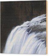 Upper Mesa Falls Wood Print