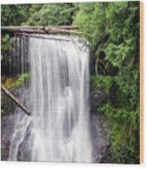 Upper North Falls 3 Wood Print