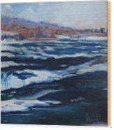 Upper Rapids Niagara Falls Wood Print