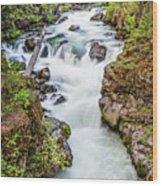Upper Rogue River Wood Print