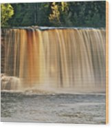 Upper Tahquamenon Falls 6279 Wood Print