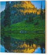 Upper Tipsoo Wood Print