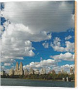 Upper West Side Cityscape Wood Print