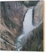 Upper Yellowstone Wood Print