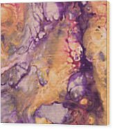 Upside Down Jellyfish And The Chicken Close Up Wood Print