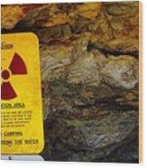 Uranium Mine In Capitol Reef Np Wood Print