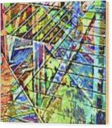 Urban Abstract 115 Wood Print