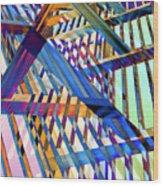 Urban Abstract 258 Wood Print