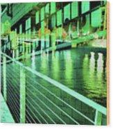 Urban Abstract 339 Wood Print
