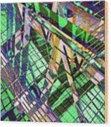 Urban Abstract 500 Wood Print