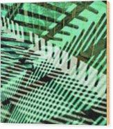 Urban Abstract 561 Wood Print