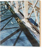 Urban Abstract 706 Wood Print