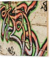 Urban Expression Wood Print