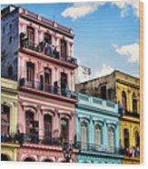 Urban Havana Wood Print