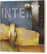15.020 - Urban Intersection Wood Print