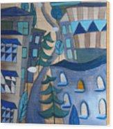 Urban Landscape 5 Wood Print