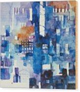 Urban Landscape No.1 Wood Print