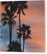 Urban Palms Wood Print