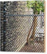 Urban Park Wood Print