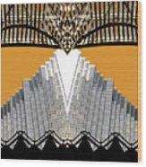 Urban Pyramid Wood Print