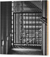 Urban Stairway Wood Print