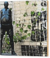 Urban Vines 2 Wood Print