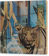 Urban Wildlife Wood Print