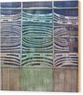 Urban Windows Wood Print